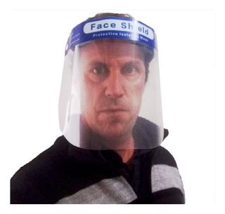 Mascara Protector Facial Barrera Sanitaria -pack X2 Unidades