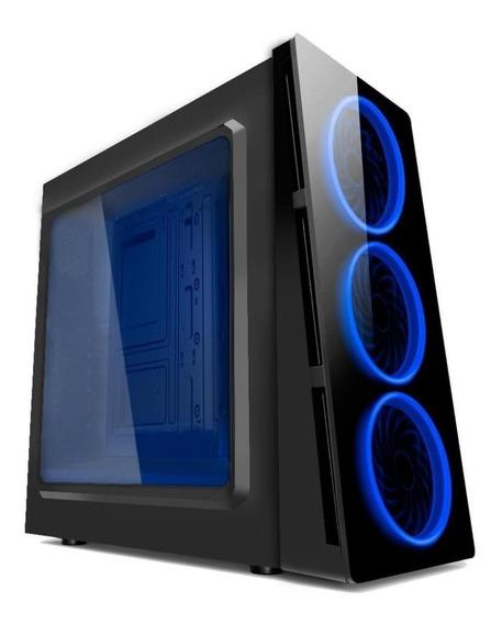 Gamer Pc I7 7700 8gb Ddr4 500w Hd 1tb + Ssd 240gb Gtx 1050ti