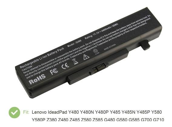 Bateria Lenovo Serie Ideapad Y480 Y485 Y580 Z380 Z480