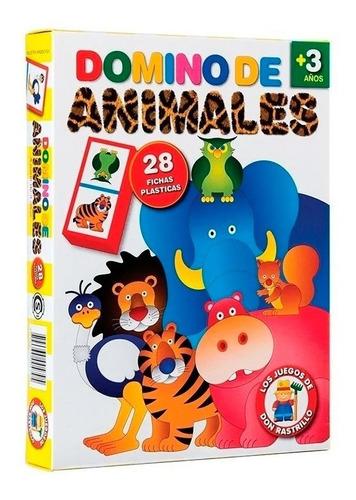 Don Rastrillo Domino De Animales H200
