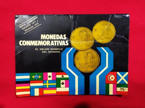 Monedas Del Mundial 78, Colección Histórica Cuño 77 Y 78