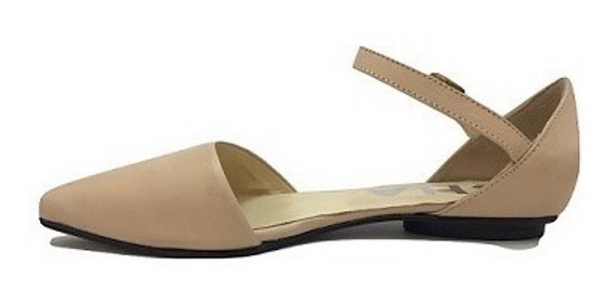 Zapato Mujer Chata Natacha Cuero Nude #142