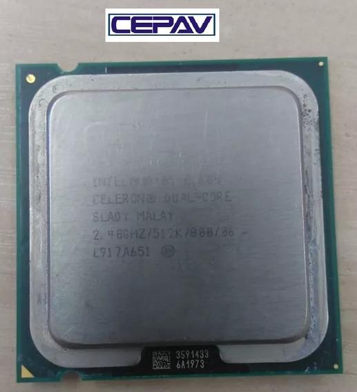 Processador Intel Celeron Dval Core E1600 2,40 512k 800mhz