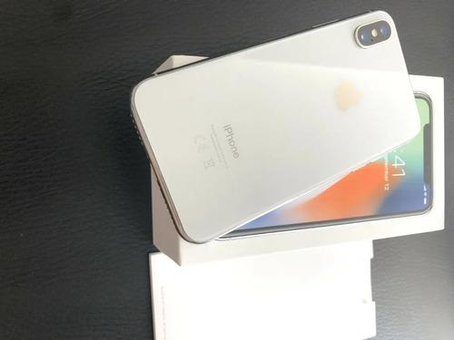 Imagen 1 de 4 de Nuevo Apple iPhone X - 256gb-silver (unlocked) A1901 (gsm)