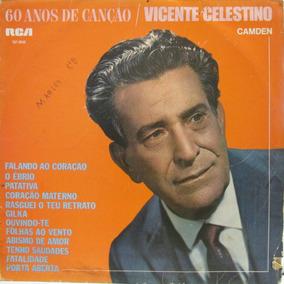 Lp Vicente Celestino 60 Anos De Canção Rca 1968 Cap.g Lp. Vg