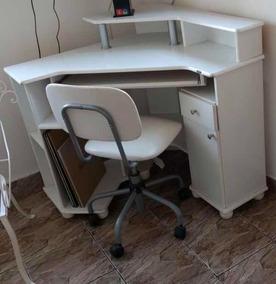 Mesa De Computador Com Cadeira