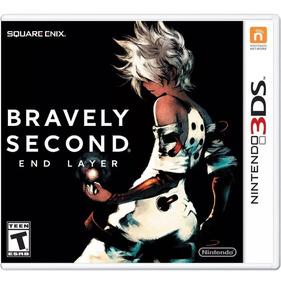 Bravely Second : End Layer Mídia Física - 3ds Lacrado !