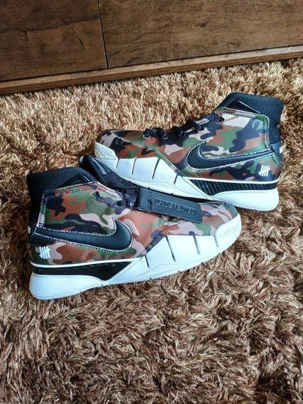 Tênis Nike Lebron Kobe Bryant Potro 1 Camuflado P/ Entrega