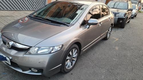 Imagem 1 de 7 de Honda Civic 2010 1.8 Lxl Couro Flex Aut. 4p