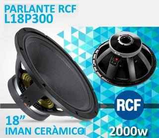 Parlante Suelto - Rcf L18p300 Woofer 18 / 2000w