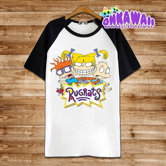 Rugrats - Remera Ranglan Unisex - 90s- Swag- Hip Hop