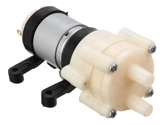 Mini Bomba De Água / Ar / Vácuo Rs-385 12v Queima De Estoque