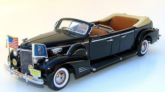 1/24 Cadillac V16 1938 Limousine Presidencial Topminis 28cm