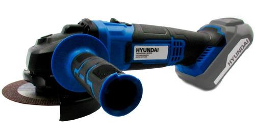 Amoladora Angular A Bateria Hyundai 115mm 20v Hycag20 Cuotas