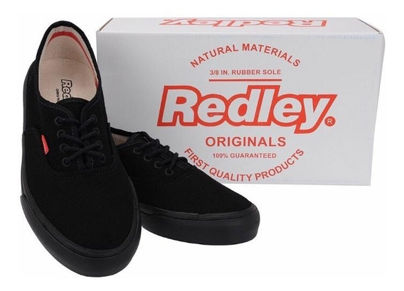 Tênis Redley Monocromo All Black Ir 10 Preto - Frete Grátis