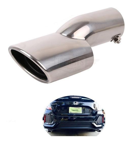 Acessórios Honda Civic G10 2017 18 19 Ponteira Escapamento