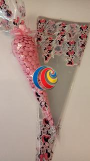 Cucurucho Candy Bar En Celofan X 25 U. Oferton!!