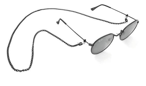 Corrente Para Oculos Preta Cordinha De Oculos