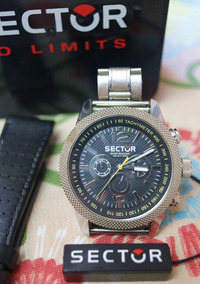 Relógio Sector - Overland Mod. Ws32016 (big 4,8cm) Orig.