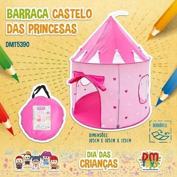 Castelo Da Princesa Toca Barraca Infantil Torre Frete Grátis