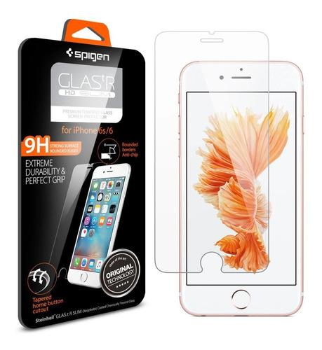Película Vidro Spigen Original iPhone SE 2020 Glas.tr Slim