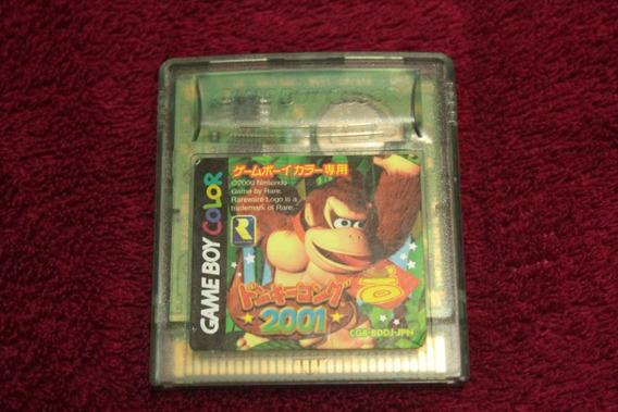 Donkey Kong 2001 Original Para Nintendo Game Boy Color Cod-3