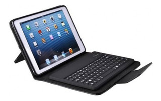 Cover Agiler Con Teclado Bluetooth Para iPad Air, Tipo Piel,