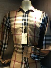 Camisa Social Burberry Masculina