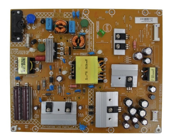 Placa De Fonte Tv 40pfg6309/78 715g6353-p01-000-002h