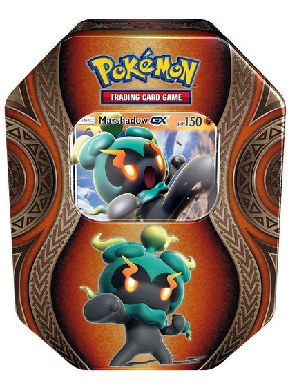 Caja Pokemon Tcg Mysterious Power Tin Marshadow Gx