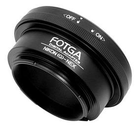 Adaptador Lente Nikon G Ai Af Sony Nex E-mount Nex +nf