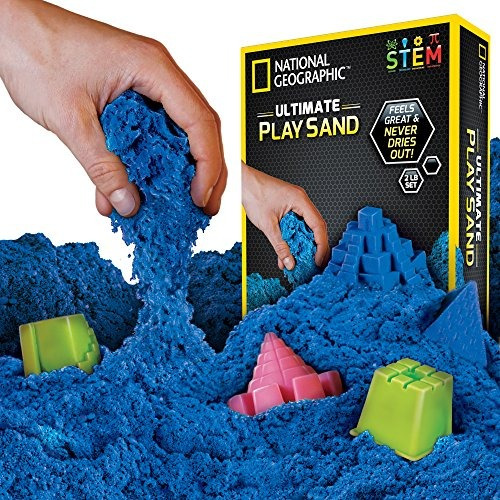 National Geographic Play Sand 2 Lbs De Sand With Castle Mol