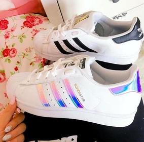 Tenis adidas Superstar Tornasol