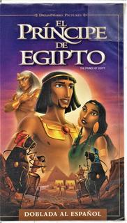 El Príncipe De Egipto - Doblada Al Español - Usado - Vhs