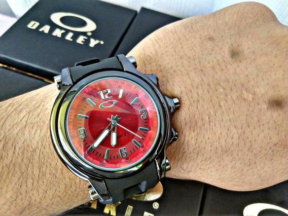 Relógio Oakley Holeshot Moderno + Caixinha + Brinde!!!