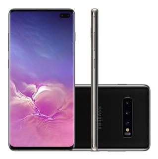 Samsung Galaxy S10 Plus 1tb 12gb Preto Anatel 12x S/ Juros