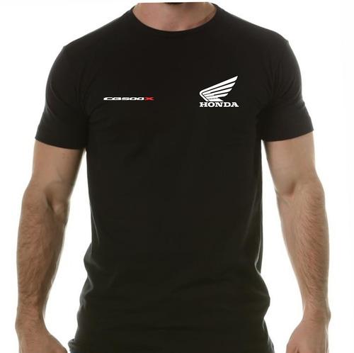 Imagem 1 de 4 de Camiseta Honda Cb 500x Cbr Rr 600rr 450 Cb A Melhor!