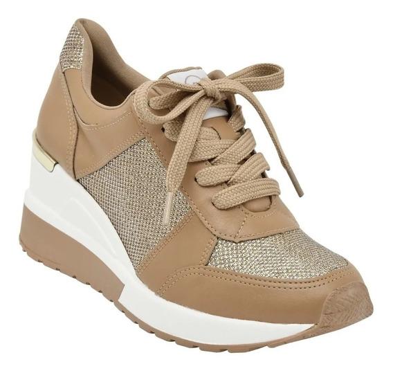 Zapatillas Mujer Taco Chino Vía Marte 20-1243 Importadas