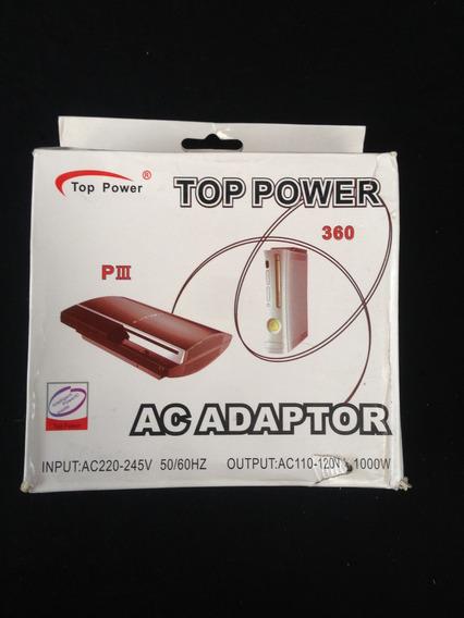 Transformador Top Power - 220v - 110v (1000w)