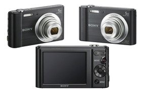 Câmera Digital Sony Cyber-shot Dsc-w800 Original Com Nota
