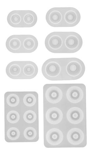 8 Tamanhos / Conjunto Bjd Boneca Eye Mold Resina Pressure