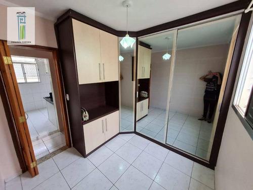 Apartamento Com 2 Dormitórios À Venda, 48 M² Por R$ 190.000,00 - Jardim Tranqüilidade - Guarulhos/sp - Ap1642