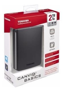 Disco Duro Externo Toshiba Canvio 2tb Usb 3.0