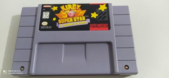Kirby Superstar Snes Original Estado De Nova!