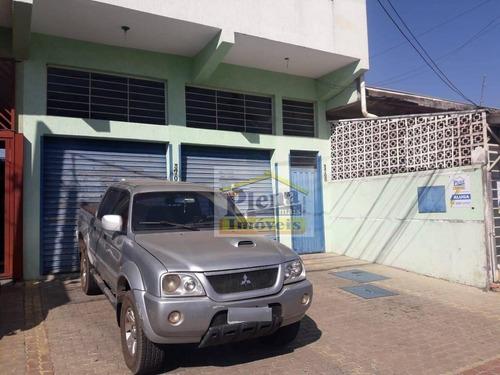 Salão Para Alugar Com 180 M² - Loteamento Remanso Campineiro - Hortolândia/sp - Sl0943