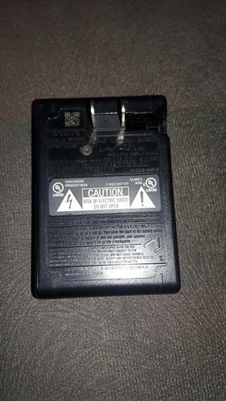 Carregador De Baterias Sony Bc-csgc Semi Novo Testado