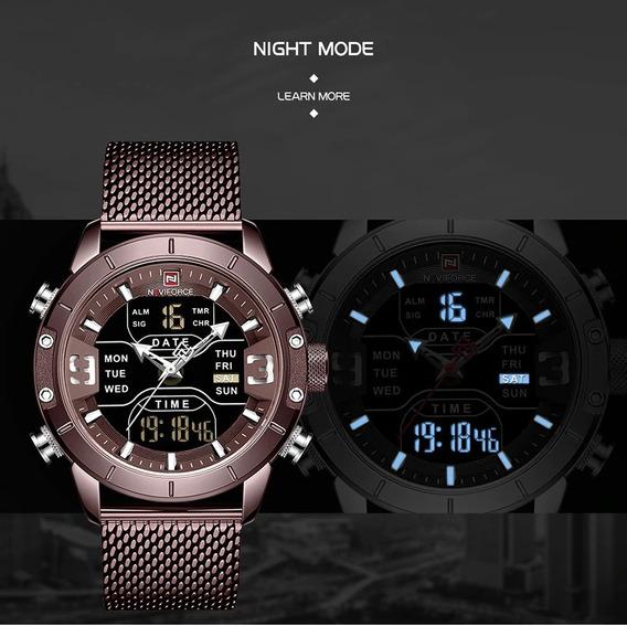 Relógio Importado Naviforce Novo E Original- Envio Imediato!