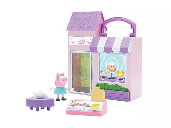Conjunto Playset Peppa Pig Padaria Delicia Dtc Original