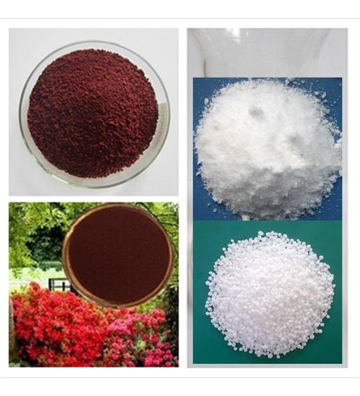 Kit Completo Nutrientes P/ 1000 Litros Solução Hidroponia