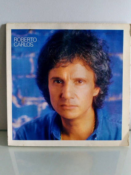 Lp Roberto Carlos Com Encarte 1984